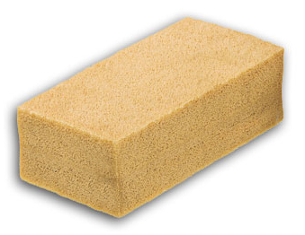 Conservation Support Systems Dry Cleaning Sponge